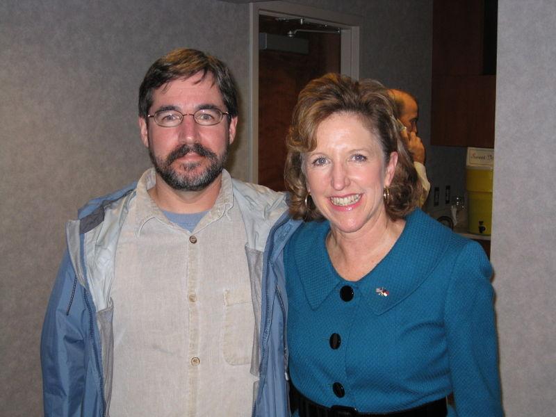 Kay Hagan and Ed Cone