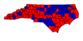 Nc voting map