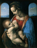 The Madonna and Child (The Litta Madonna)