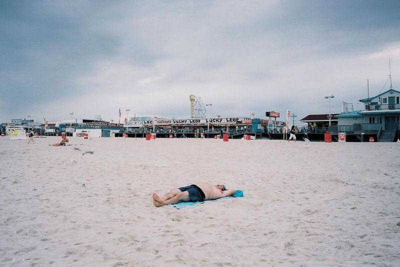 Seaside beached